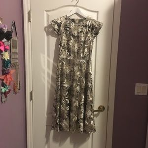 Antonio Melani metallic dress